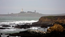 The Piedras Blancas Light Station.